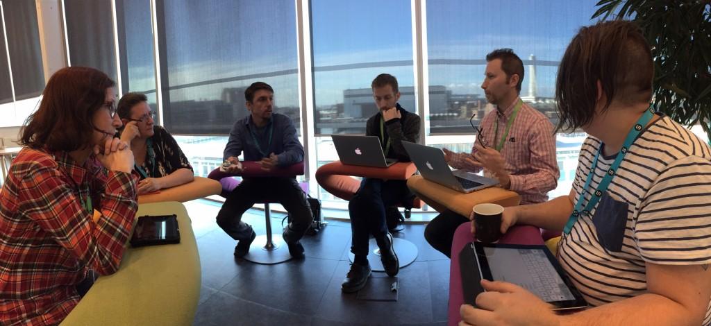 """Diskussioner i """"IKT-gruppen"""""""
