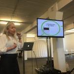 Åsa Sundelin berättar om sitt projekt i IFOUS