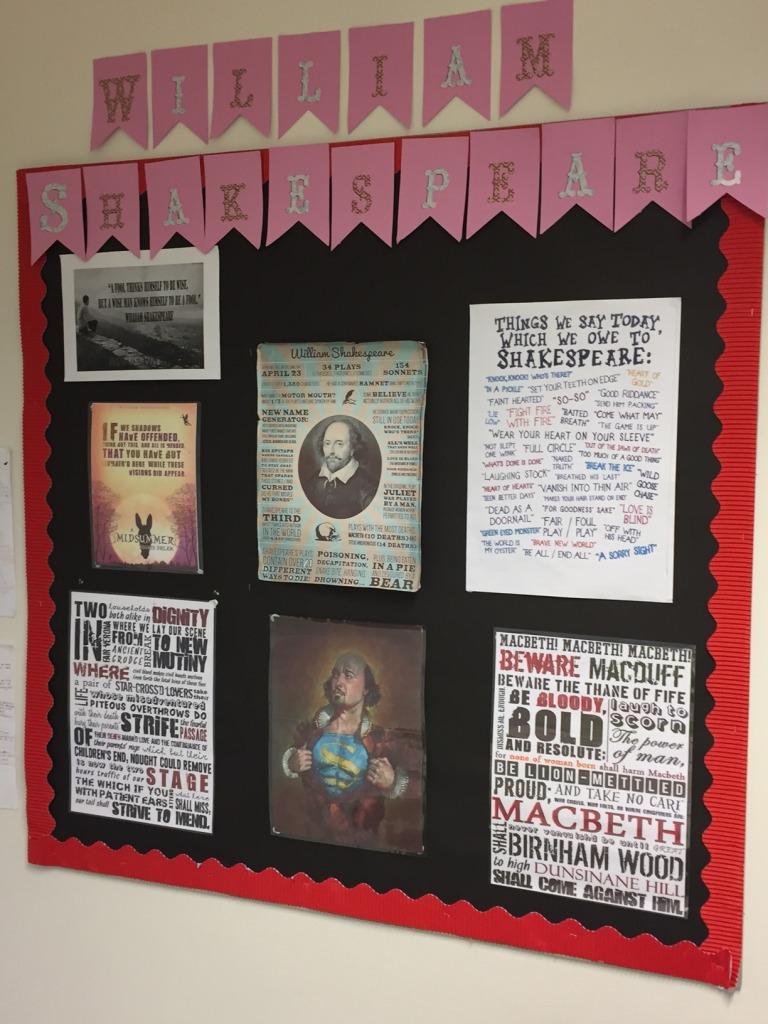 På Bohunt-skolan i Worthing kunde en Shakespeareälskande humanist, dvs undertecknad, känna sig som mest hemma.